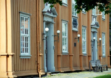 Barokkfest til lagmannsrettsbygningen på Kalvskinnet!